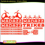 Adesivo Drift Trikes Madazz Trikes
