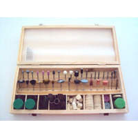 Acessorios Para Mini Retifica Micro 241 Pçs Jogo E Kit