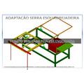 Adaptação Serra Skil 3610 Para Esquadrejadeira - Projeto
