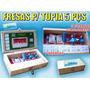 Fresa P/ Tupia - 5 Pçs 1/4 Caixa Display - Profissional.