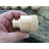 Serra Copo Broca Para Furar Vidro Diamantada 50mm