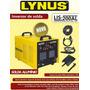Maquina De Solda Tig Lynus Lis-200 Al Solda Aluminio