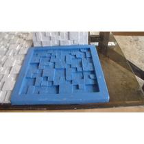 Forma Em Silicone Para Mosaico Em Gesso. Mod. Quadrado De 30