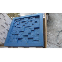 Forma Para Fundir Mosaico Em Gesso Mod Placa 30
