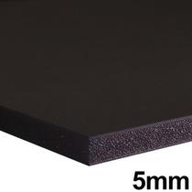 Placa Foam Board 80x100cm Preta 5mm Contracole Papel Pluma