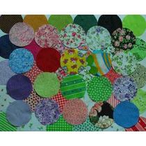 Circulos Cortados Para Seu Trabalho De Fuxico/patchwork