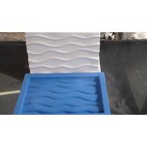 Forma De Silicone Para Placa De Gesso Mod: Duna Mirin 27x19
