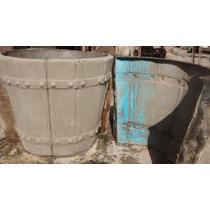 Forma De Fibra Para Fabricar Vasos Em Concreto !!!!