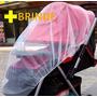Mosquiteiro Carrinho Bebe Tela Rede Filó Elástico Protetora