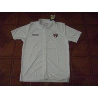Camisa São Paulo Feminina Branca Polo P