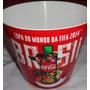 Balde De Pipoca Copa Do Mundo 2014 Brasil Coca-cola