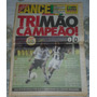 Corinthians Tri Campeão Brasileiro 1999 Jornal Lance Poster