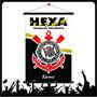 Bandeira Corinthians Premium Personalizada