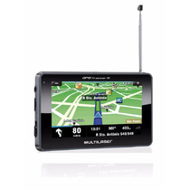 Navegador Gps Multilaser Tracker Iii Tela 4.3 Tv Digital R