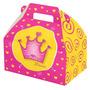 Caixa Surpresa Festa Coroa De Princesa - Maleta Reino 8uni