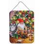 Natal Gnome Pelo Wall Árvore Ou A Suspensão Da Porta Print