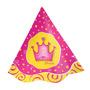 Chapéu De Festa De Aniversário Coroa De Princesa - Reino 8u