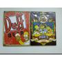 Combo 2 Quadros Placa Madeira Simpsons Hommer Duff Moe