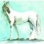 Gravura, Quadro 30x30x3 Cm, Cavalo Nº 6 Feitosa Junior