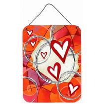 Círculo De Parede Dia Dos Namorados Do Amor Ou A Suspensão