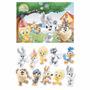 Kit Decorativo Painel Festa Looney Tunes Baby Piupiu +10pç
