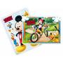 Kit Decorativo Com Painel Festa Turma Do Mickey +6 Peças