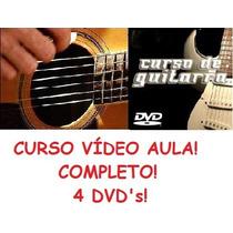 Guitarra E Violão - 4 Dvd