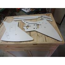 Kit Gabaritos - Explorer - Cortado A Laser - Luthier