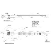 Planta Kramer 5150 Em Pdf Para Impressão (luthier)