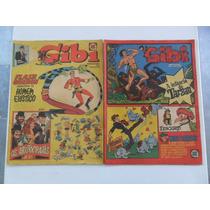 Gibi Semanal Nºs 1 A 40! R$ 20,00 Cada! Rge 1974!