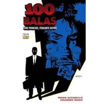 100 Balas - Brian Azzarello E Eduardo Risso - 6 Volumes