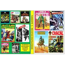 Dvd - Revistas De Faroeste Antigas Digitalizadas 5