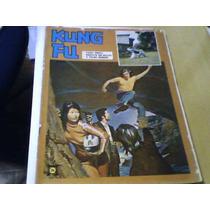 Revista Quadrinhos Kung Fu N°34 1977 Ebal