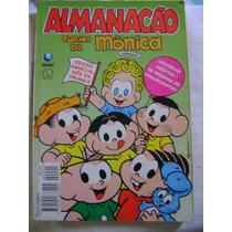 Almanacão Turma Da Mônica No.1 Out 94 Ed Globo Bom !