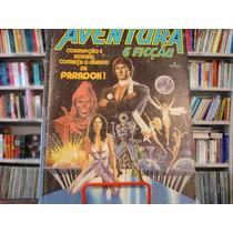 Revista / Hq - Aventura E Ficção Nº 3 - Abril 1987