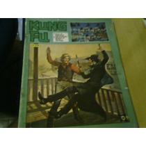 Revista Quadrinhos Kung Fu N°39 1977 Ebal Contra Capa Recort