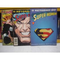Super Homem O Retorno Edição 3 Volumes Revista Quadrinho