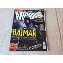 Gibi Hq Mundo Dos Super Heróis Batman Homem Aranha Dc Comics