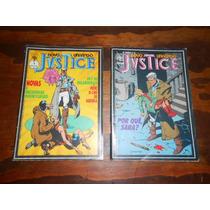Revista Em Quadrinhos Justice E Força Psi