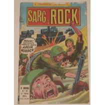 O Herói Nº 33 (2ª Série) - Sarg Rock - Ebal - 1980