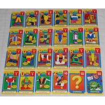 Lote C/24 Cartas Cards Letronix Revista Recreio Anos 90