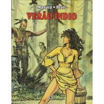 Graphic Novel Verão Índio Hugo Pratt Milo Manara Ed. Conrad