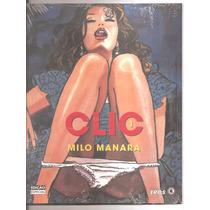 Clic Vol. 1 Ao 3 De Milo Manara Todos Lacrados
