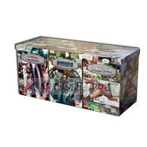 Caixa Organizadora Para Colecionadores De Gibis E Mangas