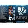 Dvds Coleção De Clipes - Anos 80s Video Hits Vol. 1, 2 E 3