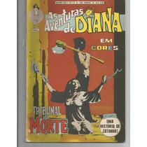 As Aventuras De Diana Em Cores Nº 2 - Ebal - Em Cores.