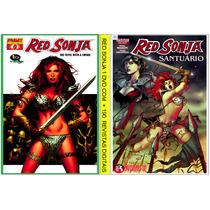 1 Dvd - Coleção Hq Red Sonja-+ 190 Revistas Digitalizadas