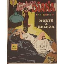 Hq As Aventuras De Diana Em Cor Nº 3 - Ebal - 1974