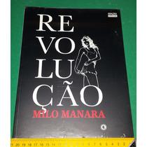 Revolução - Milo Manara - Coleção Eros - Livro Novo