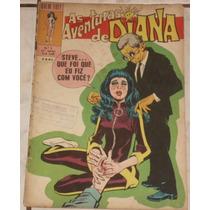 Hq As Aventuras De Diana Nº 2 (5ª Série) - Ebal - 1972